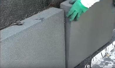 Изоляция стен пеностеклом