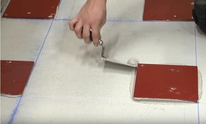 Плитки для распределение нагрузки