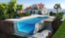 Гравий из пеностекла используется для теплоизоляции бассейнов