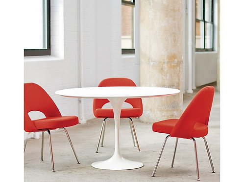 KNOLL / SAARINEN TABLE RONDE HAUTE