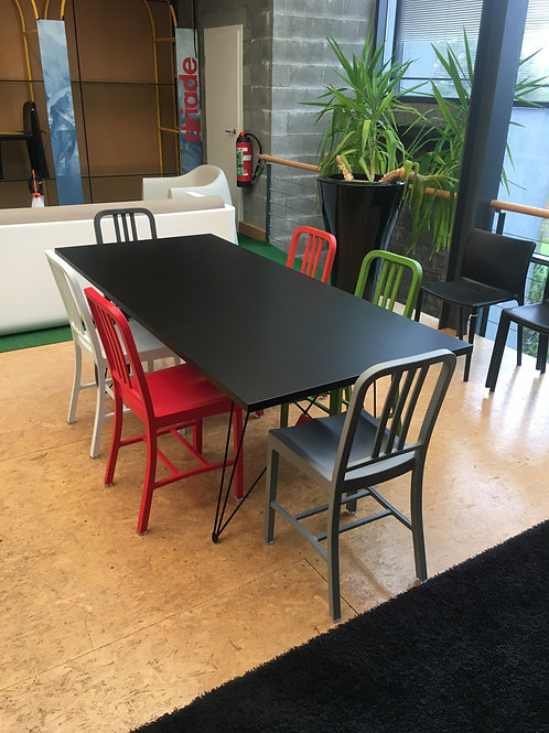 MAGIS / EMECO ensemble table et chaises