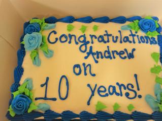 GVE Valued Staff Anniversaries