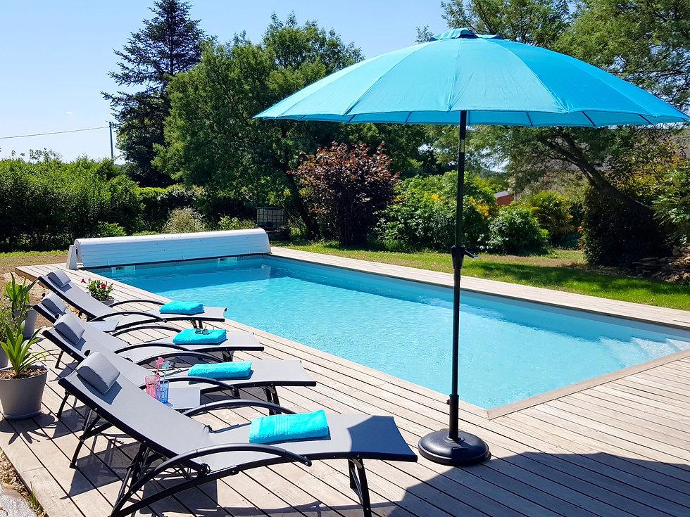 Chambre d'hôtes de caractère avec piscine dans le Morbihan