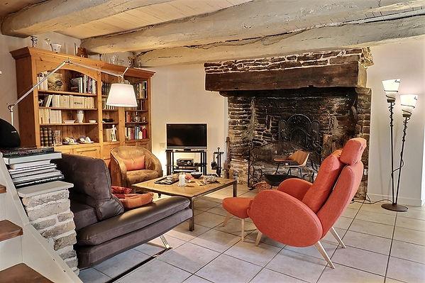Un intérieur de charme pour cette chambr d'hôtes dans le Morbihan
