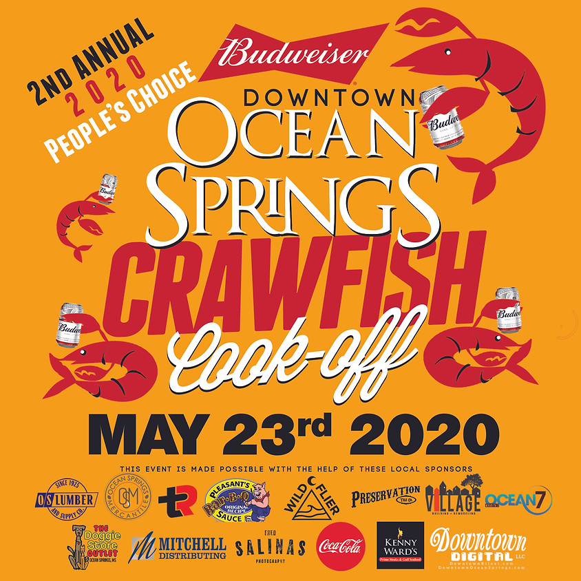 Budweiser Downtown Ocean Springs Crawfish Cook-Off 2020 People's Choice