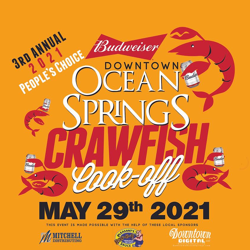Budweiser Downtown Ocean Springs Crawfish Cook-Off 2021