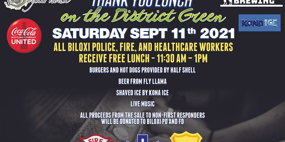 First Responders Thank You Lunch