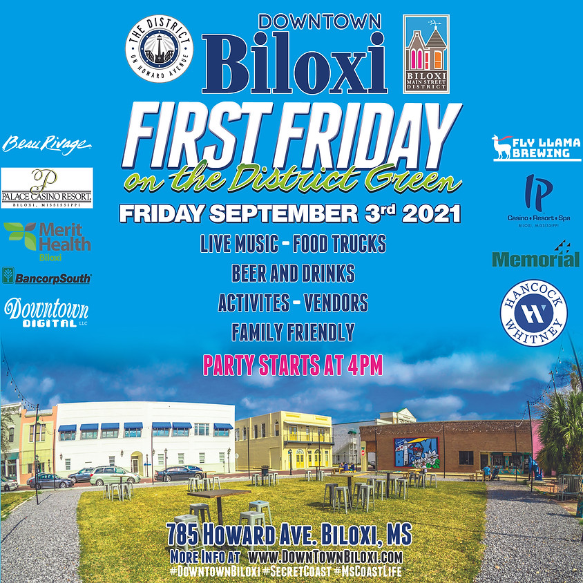 First Friday Block Party
