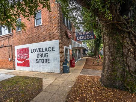 Lovelace Drug Store & Soda Fountain Closed 2019
