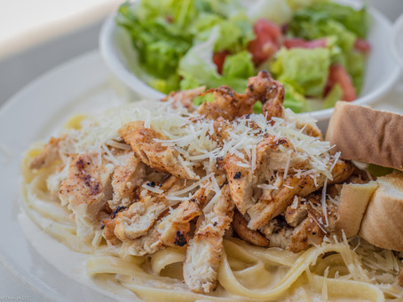 Wednesday Special: Blackened Chicken Fettuccine $9.95