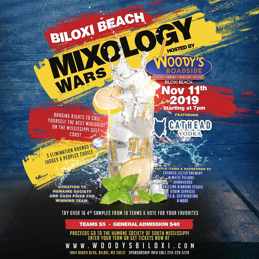 Biloxi Beach Mixology Wars | Hosted by Woody's Roadside