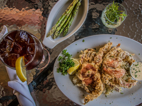 Wednesday Special: 2 Fried Soft Shell Crabs
