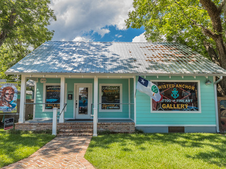 Twisted Anchor Tattoo and Fine Art Gallery - Downtown Ocean Springs