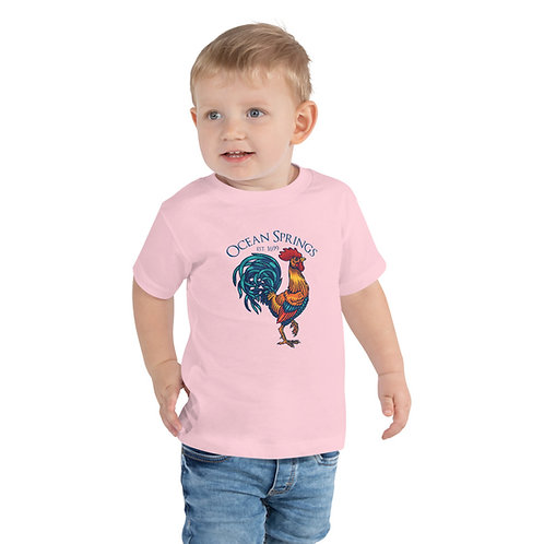 """Official """"Carl"""" the Rooster Toddler Short Sleeve Tee"""