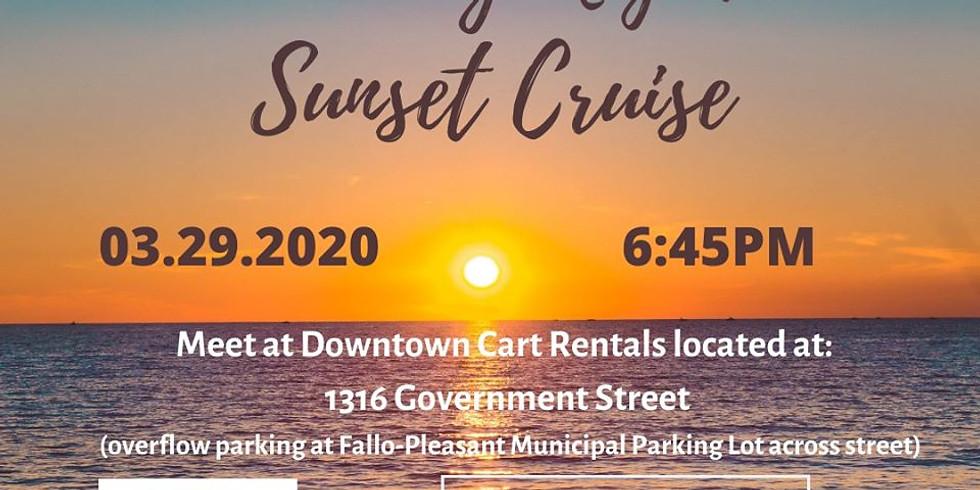 Sunday Night Sunset (Golf Cart) Cruise