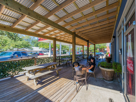 New Covered Patio at Knuckleheads | Downtown Ocean Springs