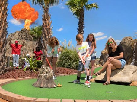 Lava Links Mini Golf Club