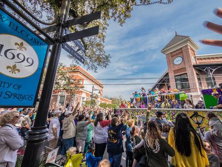 Mardi Gras 2019 Downtown Ocean Springs