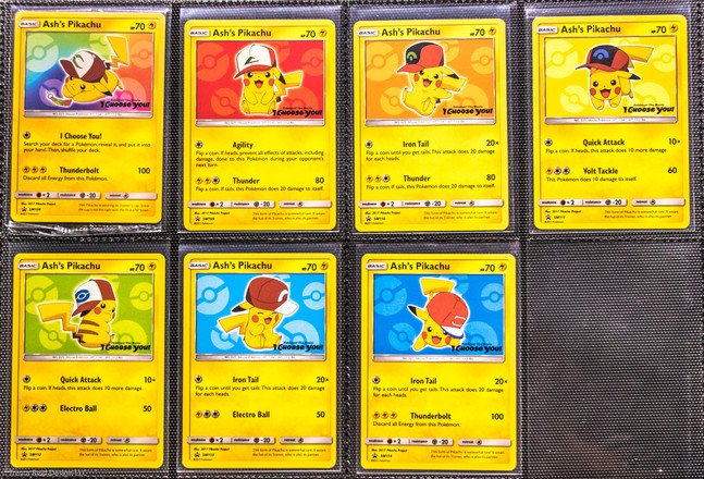 I Choose You Master Collection Card List English