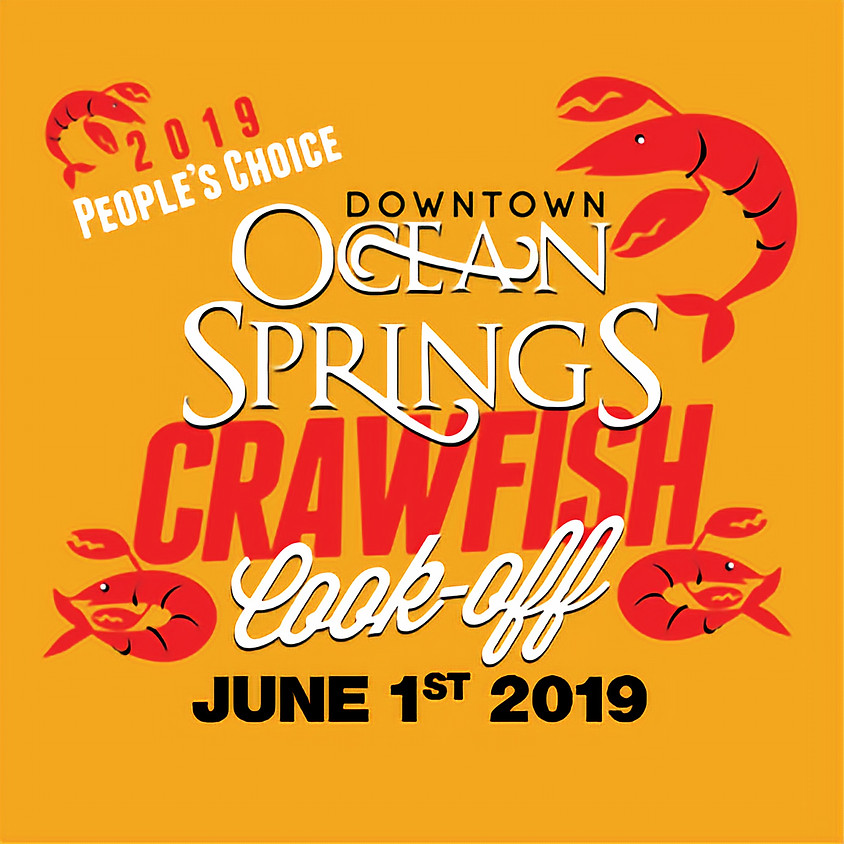 Downtown Ocean Springs Crawfish Cook-Off 2019