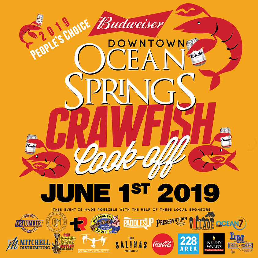 Budweiser Downtown Ocean Springs Crawfish Cook-Off 2019 People's Choice