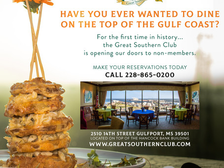 Great Southern Club is opening our doors to non-members.