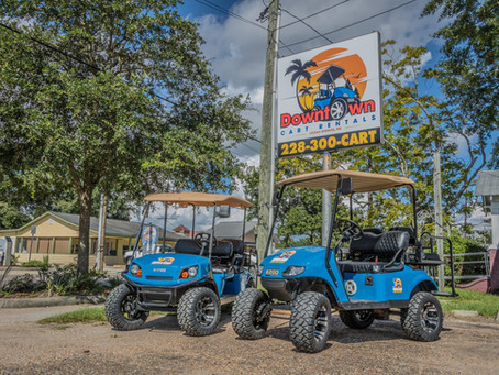 Downtown Cart Rentals - Ocean Springs, MS