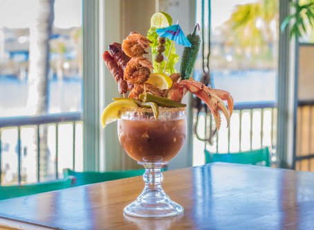 The 3 Best Bloody Mary's on the Mississippi Gulf Coast.