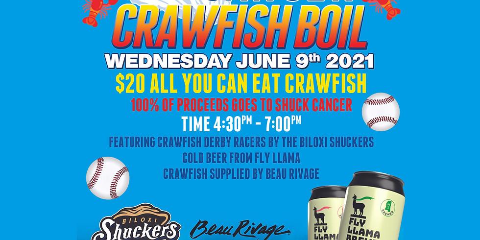 Shuck Cancer Crawfish Boil