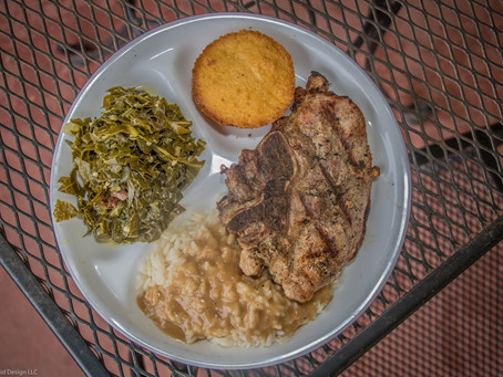 Thursday Special: Smothered Pork Chops Fried or Grilled $9.95