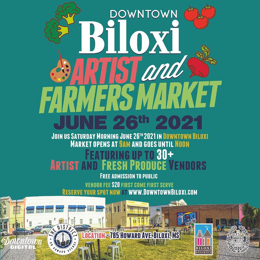 Downtown Biloxi Artist & Farmers Market