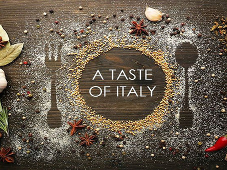 Taste of Italy - Dinner and Dancing April 23rd