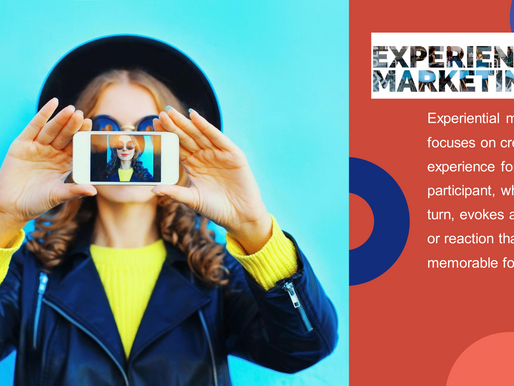 Catch the trend with experiential marketing
