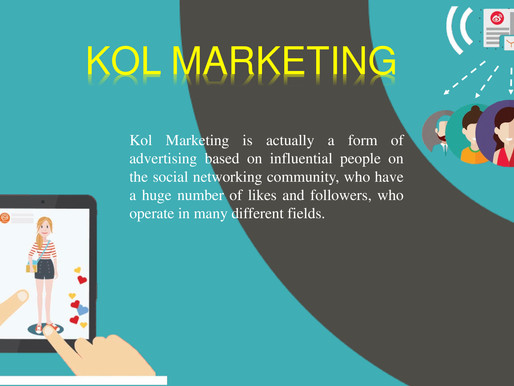 THE NEW WAVE OF KOL MARKETING