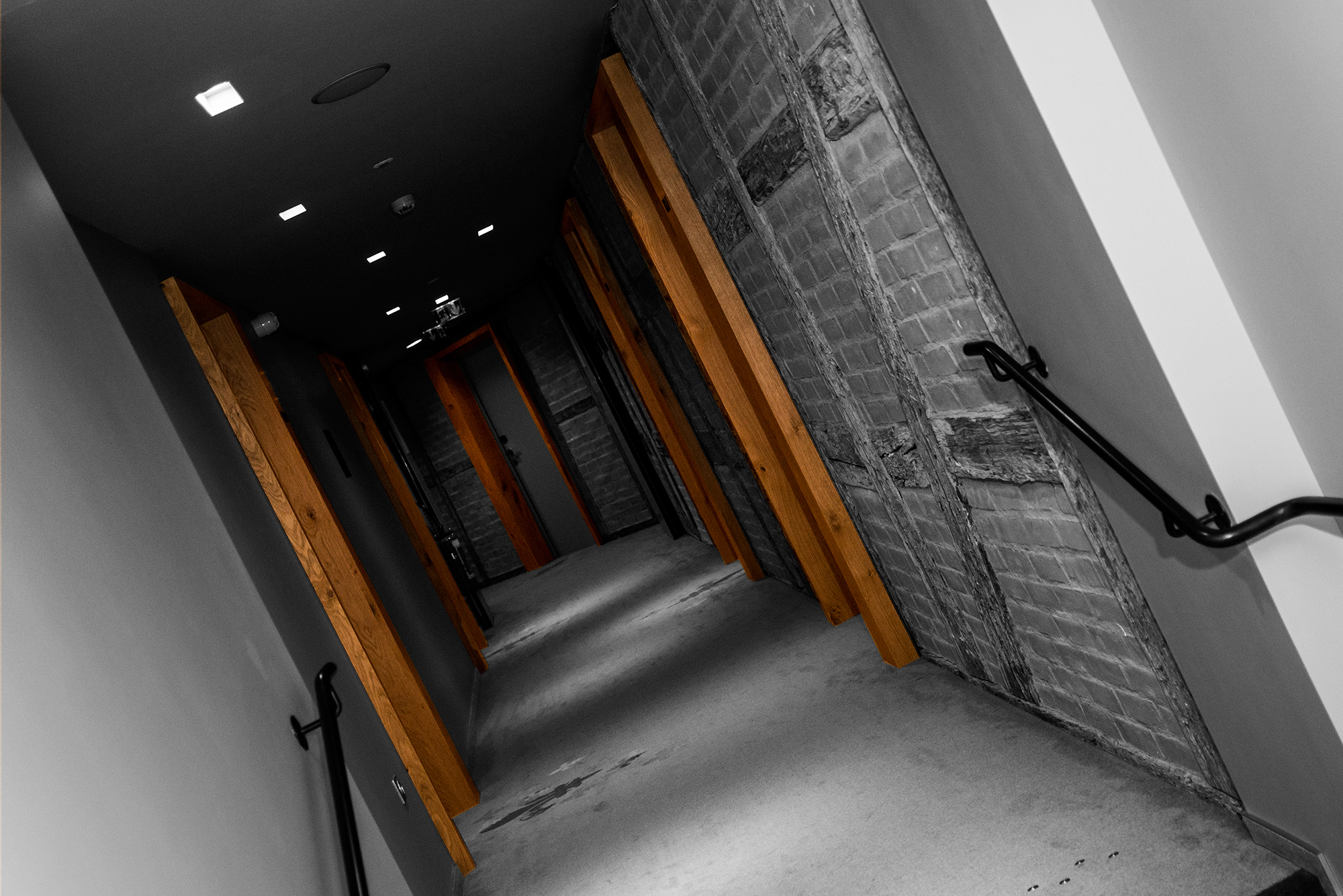Couloir de l'hôtel Les Haras