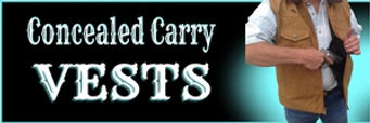 Concealed Carry Vests for men and women