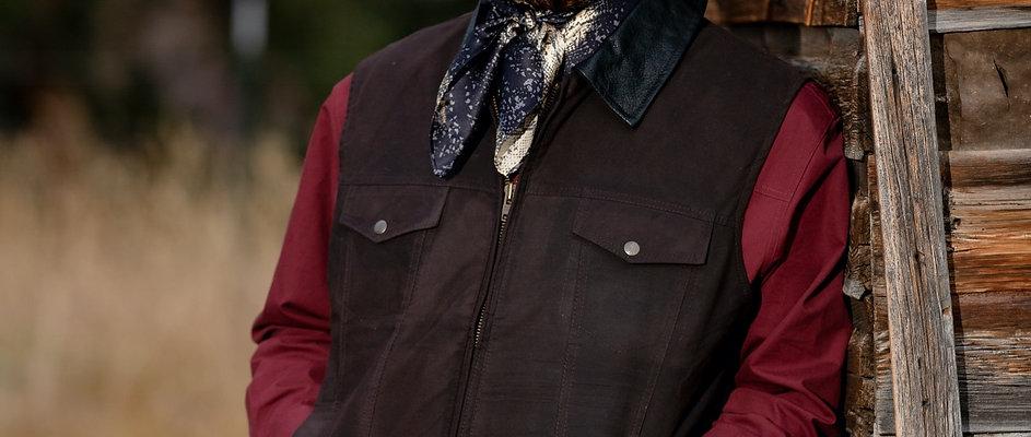 Oilskin Conceal Carry Vest