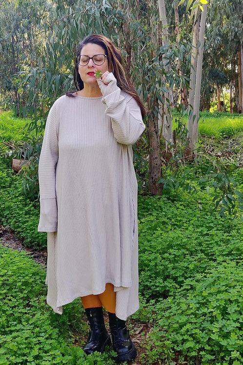 שמלת חיבוקי חול