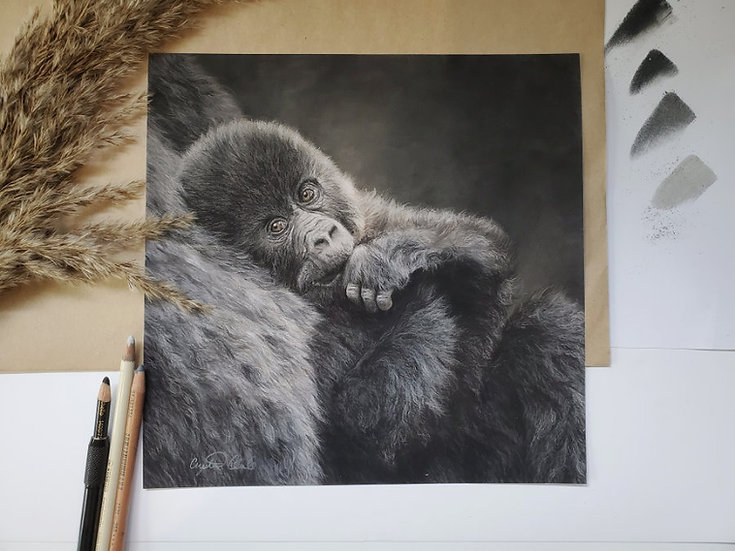 'The Look You Give' print