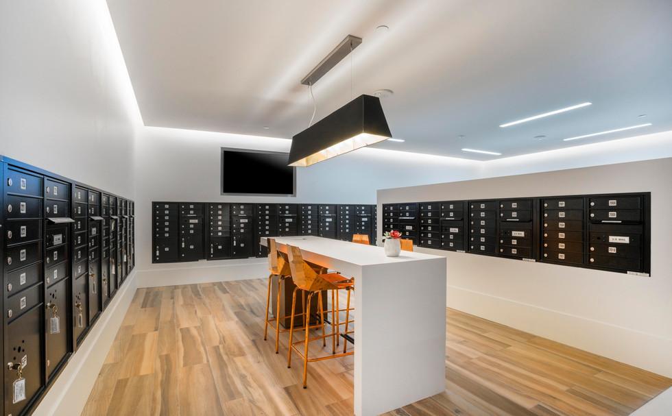 Condo Mail Room