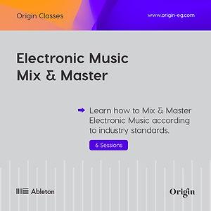 Post 2 - Electronic Music Mix & Master.j