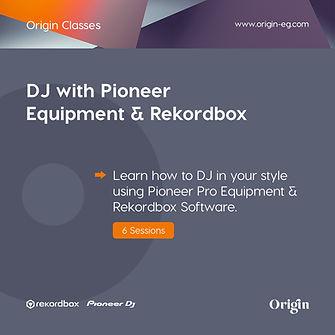 Post 5 - DJ with Pioneer Equipment & Rek