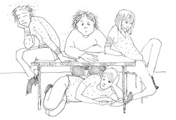 Drawing for book