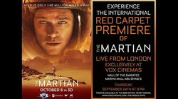 The Martian - Live Red Carpet