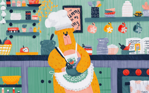 B is for Baking Bear