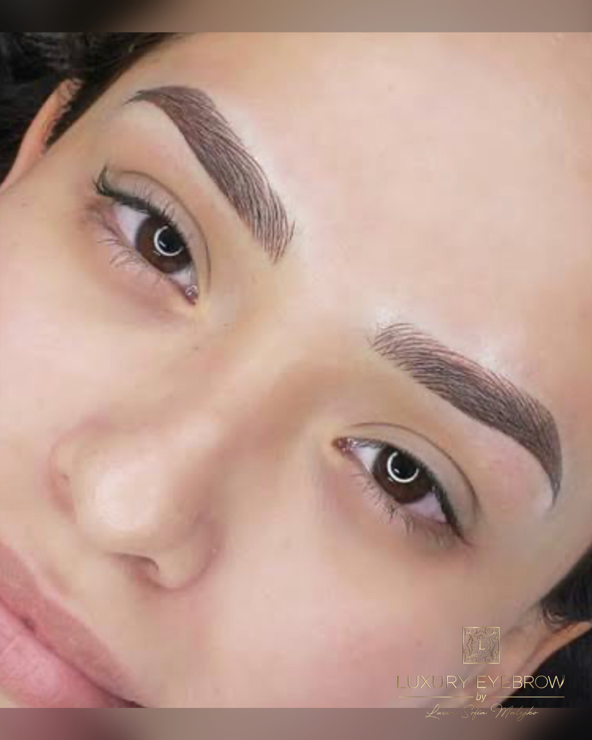 Combination Eyebrow Tattoo First Session