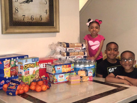Local Youth Dedicated to Give Back to the Homeless