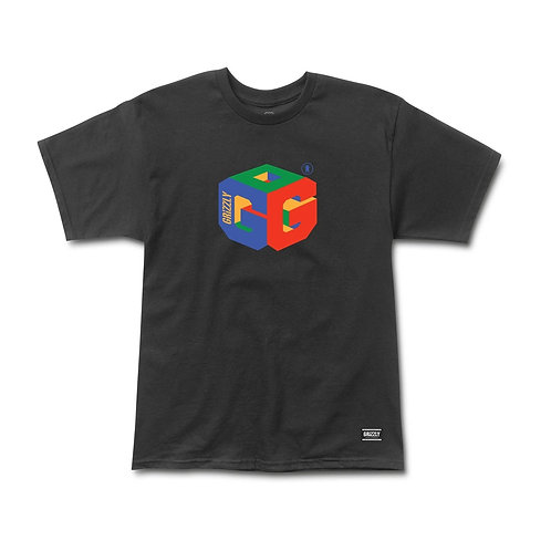 GRIZZLY G64 S/S TEE BLACK