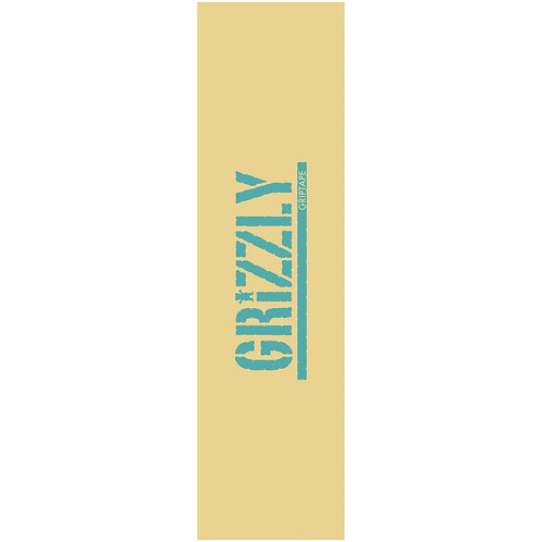 GRIZZLY STAMP NECESSITIES GRIPTAPE YELLOW