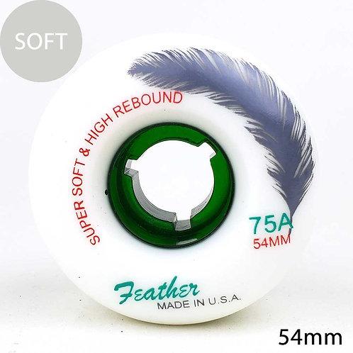 Feather wheel cruise white